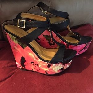 🌹wedge heels