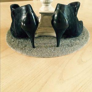 d96479a5f0 Nina Shoes - Nina Pewter spike heel shoe boots