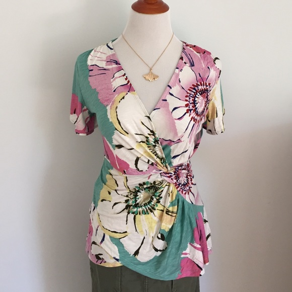 31 Off Anthropologie Tops Anthropologie Floral Top