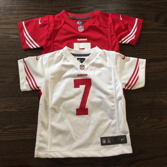 size 40 4b8a3 4b237 Toddler 3T SF 49ers Nike jersey bundle