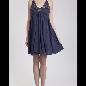 Blu Pepper Sleeveless Halter Dress