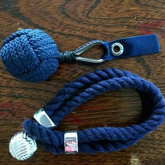 Tip Top Jewellery: Sperry Tip Sider Monkey Fist Rope Bracelet And Key From