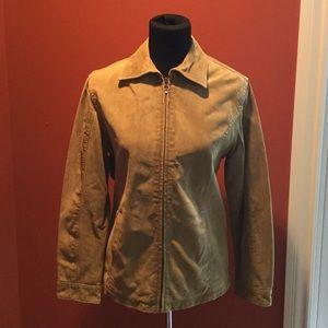 Jackets & Blazers - Chicos suede jacket size 1