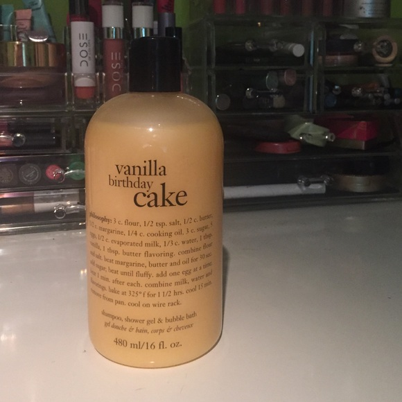 Philosophy Vanilla Birthday Cake Shower Gel Bubble M 574cb64e4e95a31c1701030c