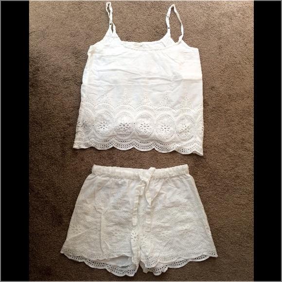 f23f702eee929 Oysho Intimates & Sleepwear | Crochet Pjs Setsize Sp | Poshmark