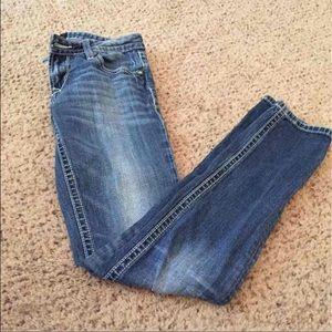 Express Rerock Skinny Jeans