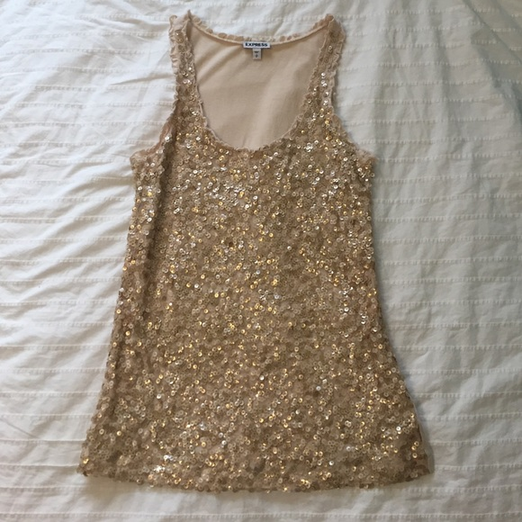 Express Tops - Sequin Top