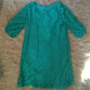 Boutique Style Dress in Turquoise Size S