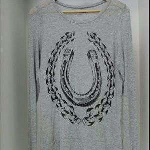 Lauren Moshi Tops - lauren moshi • long sleeve top light sweater
