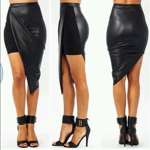 25% off Gojane Dresses & Skirts - Go Jane asymmetrical faux ...