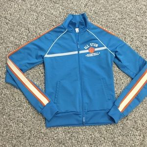 Anchor blue Jackets & Blazers - Anchor blue track jacket