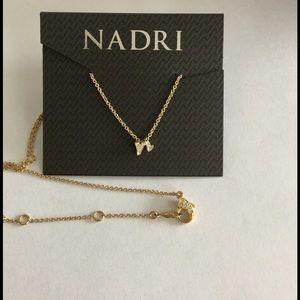 56 off nadri jewelry nadri necklace from cryss closet on poshmark nadri n initial pendant aloadofball Choice Image