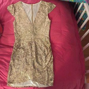 Nasty Gal glitter dress