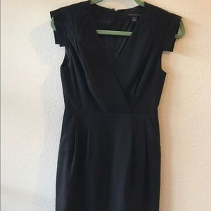 Cap sleeve Banana Republic cocktail dress LBD
