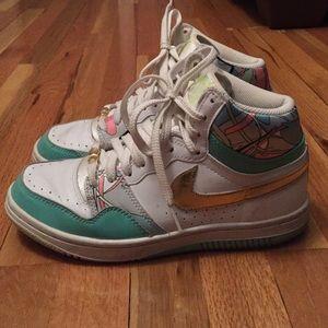 Nike ladies high top sneakers