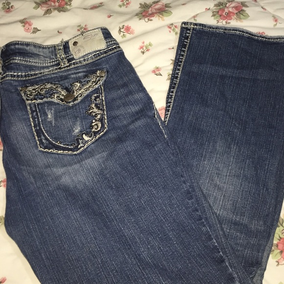75% off Silver Jeans Denim - Silver jeans Suki Flap sz 18 x 31 ...