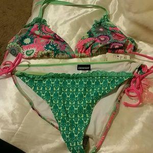 Swimsuit Bikini Top & Bottom Set