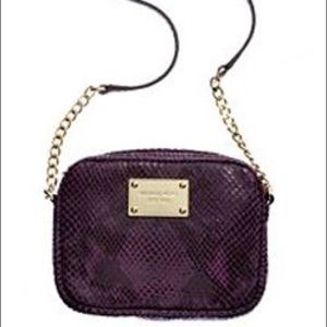 Michael Kors purple crossbody