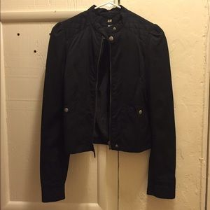 Black H&M jacket