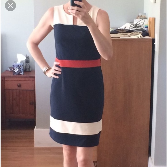 41hawthorn colorblock dress