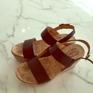 Kork Ease 9 medium Wedges gently used