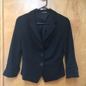 Express Jackets & Blazers - Sz 2 & Sz 4 Two-Button Black Blazer