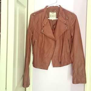 BB Dakota Brown Leather Jacket