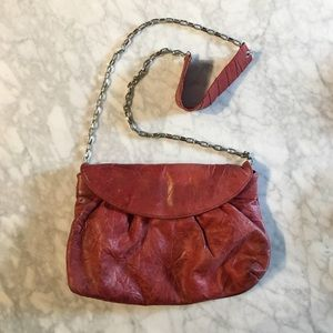Zara Terez Handbags - Red leather crossbody!