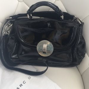 Marc by Marc Jacobs black patent leather bag!