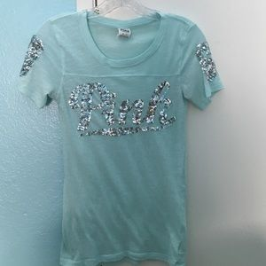 PINK Turquoise T-Shirt