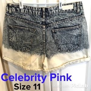 Celebrity Pink Pants - Celebrity Pink High Rise Hipster Shorts Size 11