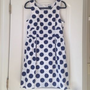 J Crew Polka Dot Dress
