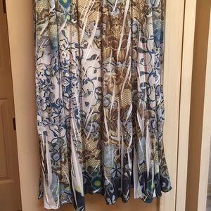 ONE WORLD Dresses & Skirts - Breezy skirt all seasons!