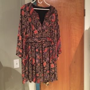 Zara Trafaluc Printed Dress