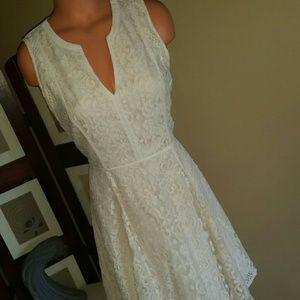 Nwot Lc Lauren Conrad Ivory dress