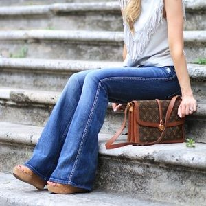 7 For All Mankind denim flare