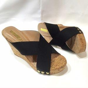 ShuShop Shoes - ShuShop Black Wedges