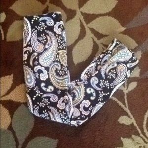 Paisley boho leggings