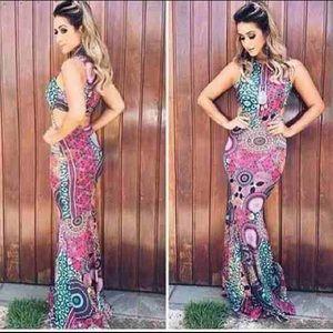 Boutique Dresses & Skirts - 🎀LAST ONE Mandala Mermaid Dress