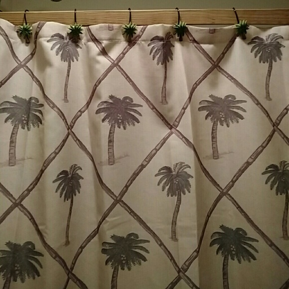 jcpenney - Palm tree shower curtain JC Penney with palm from ...