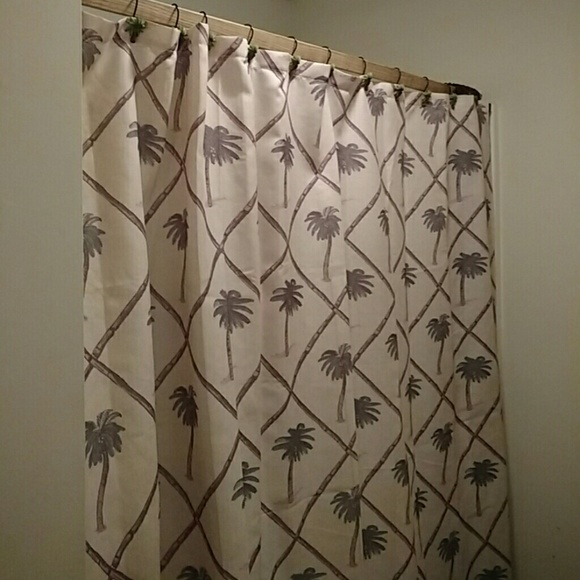 Jcpenney Other   Palm Tree Shower Curtain JC Penney With Palm