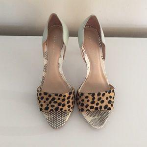 Loeffler Randall Shoes - Loeffler Randall D'Orsay Heel Sandal 7.5