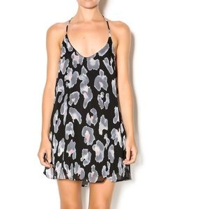 Honey Punch Patterned Leopard Mini Dress