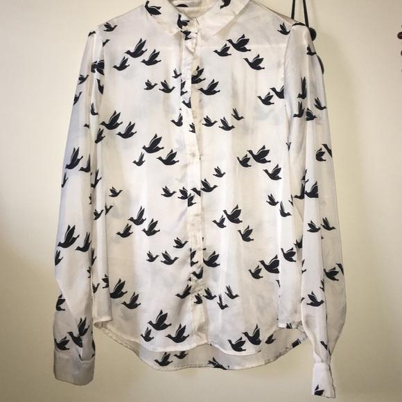 Forever 21 Tops - Forever 21 bird shirt