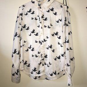 Forever 21 bird shirt