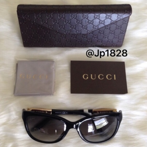 c5d0b26a87 Sale✨Gucci 55mm Bamboo Temple Sunglasses