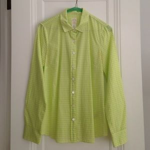 J Crew The Perfect Shirt, size 2, cotton