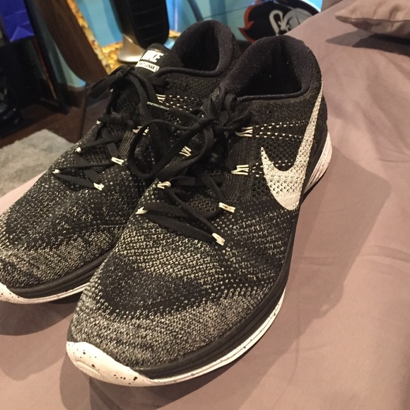 low priced 11bd2 72d67 Nike Flyknit Lunar 3 Oreo Black/White