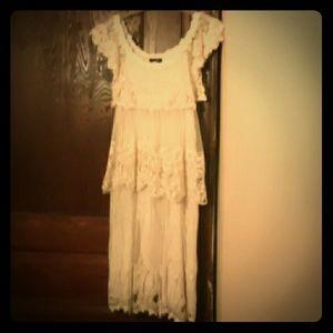 Lace sleeveless vintage style dress