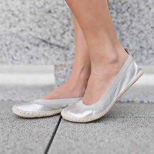 Yosi Samra  Shoes - Silver Yosi Samra espadrille flats